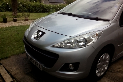 Ruth Audsley - Peugeot 207 sw