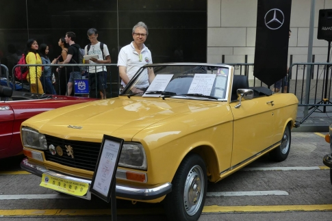 304 Cab S - Ruy Barretto (pictured at Hong Kong Classic Car Show 2017)