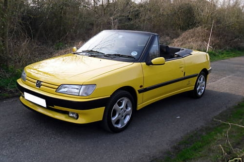 Rob Exell - 306 Cabriolet - classic Pininfarina styling