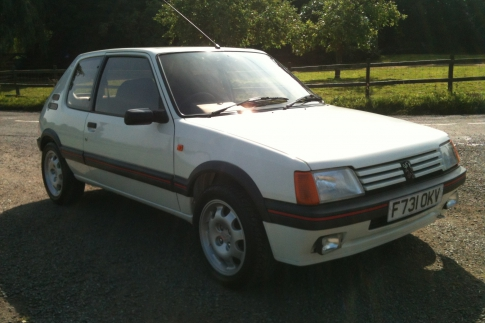 Andy Daniels - 205 GTi 1.9. 5,400 miles from new.