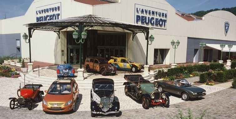 Museum,L`Aventure Peugeot,Sochaux