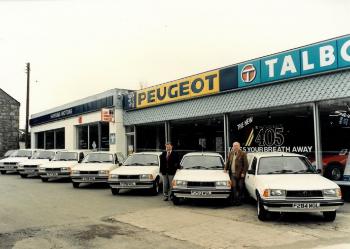 Hawkins Motors 1988