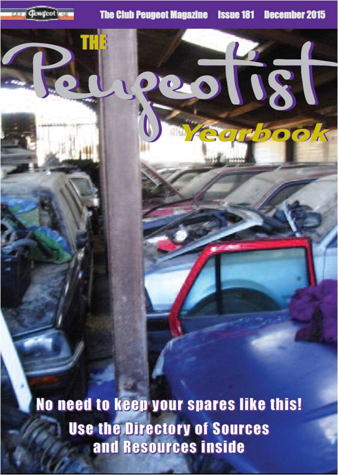 The Pugeotist issue 181 cover