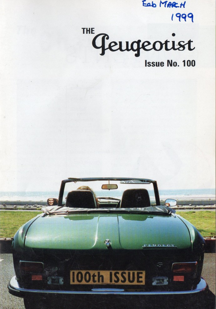 The Pugeotist issue 100 cover
