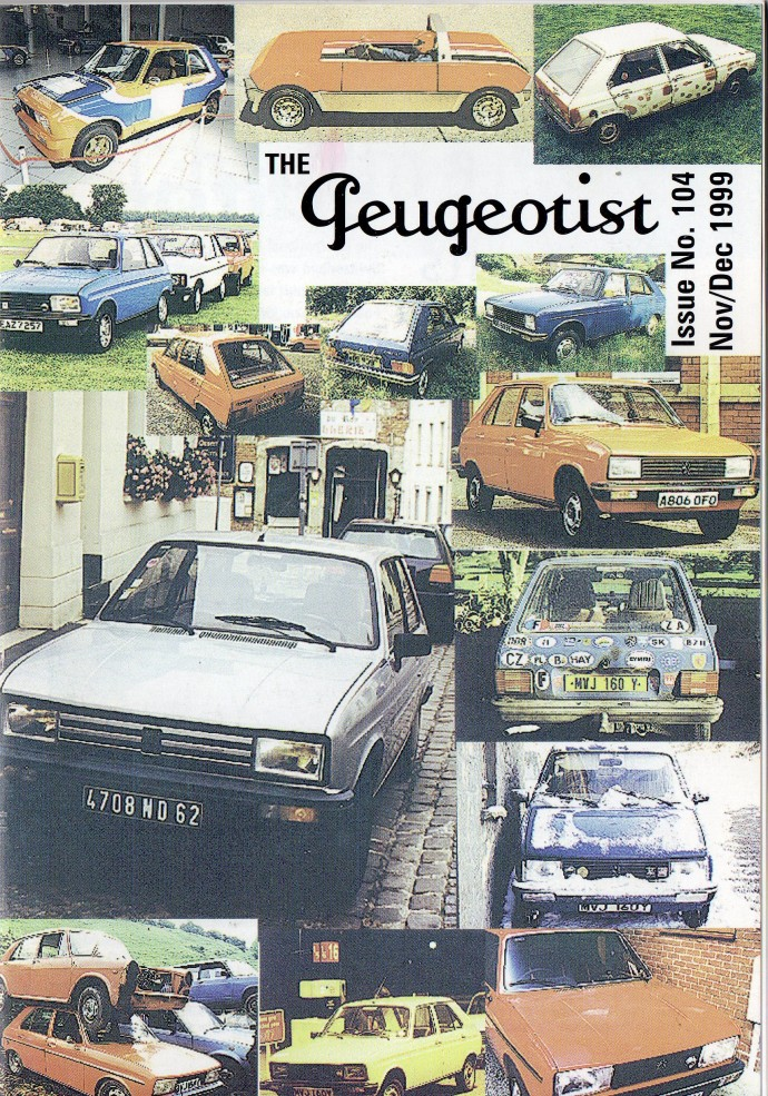 The Pugeotist issue 104 cover