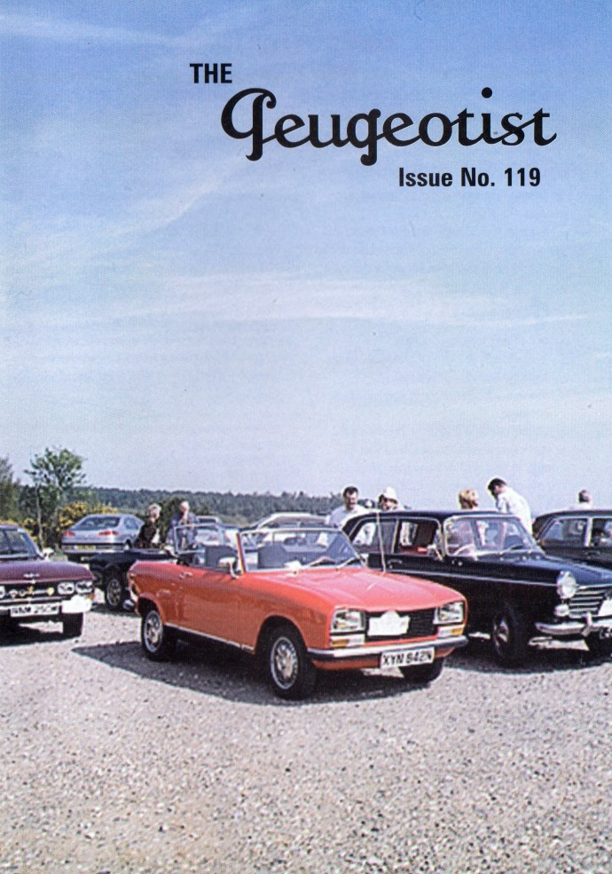 The Pugeotist issue 119 cover