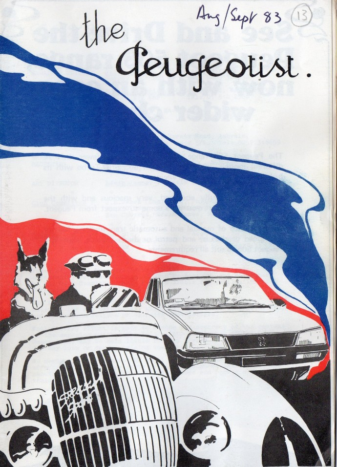 The Pugeotist issue 13 cover