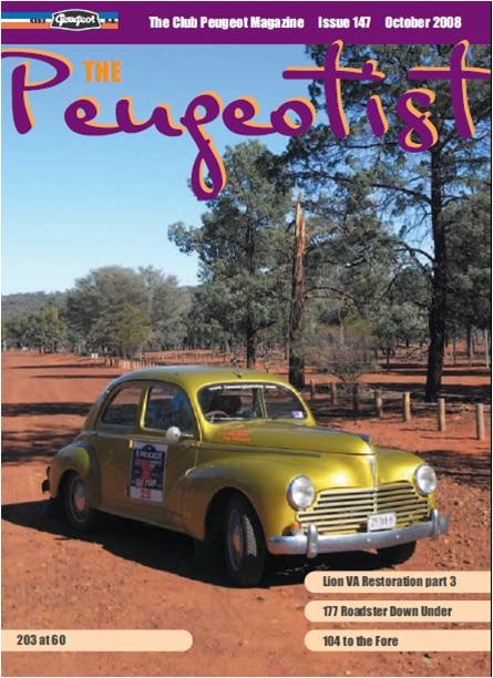 The Pugeotist issue 147 cover