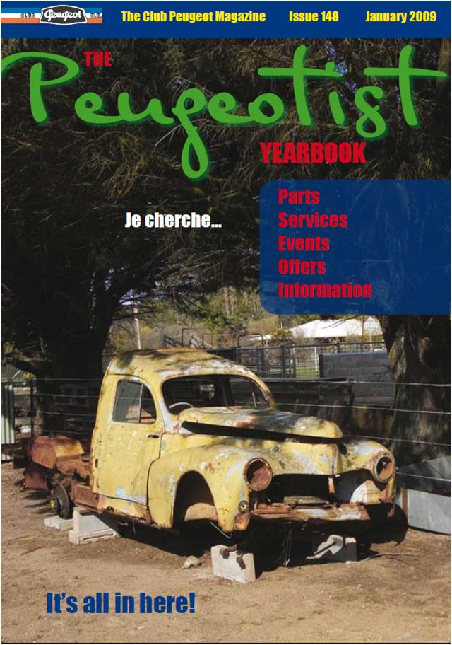 The Pugeotist issue 148 cover