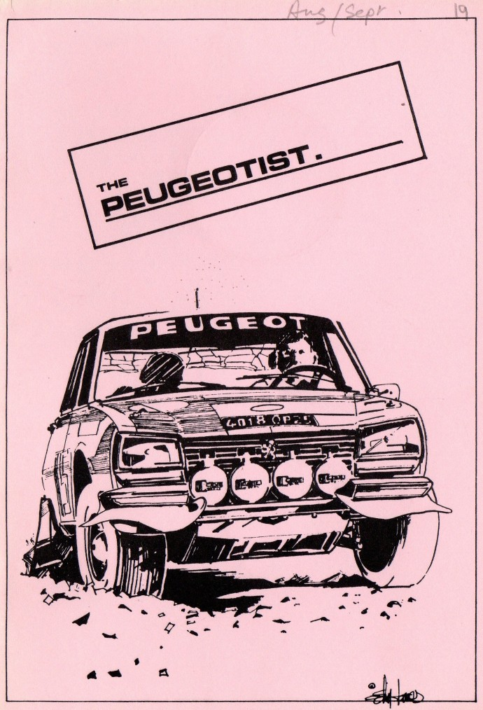 The Pugeotist issue 19 cover