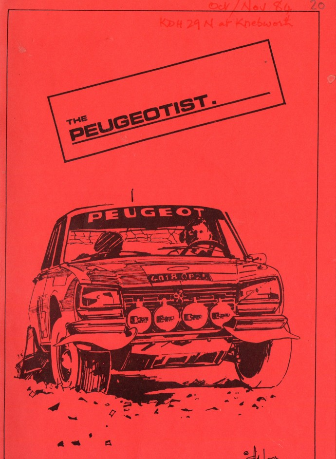 The Pugeotist issue 20 cover