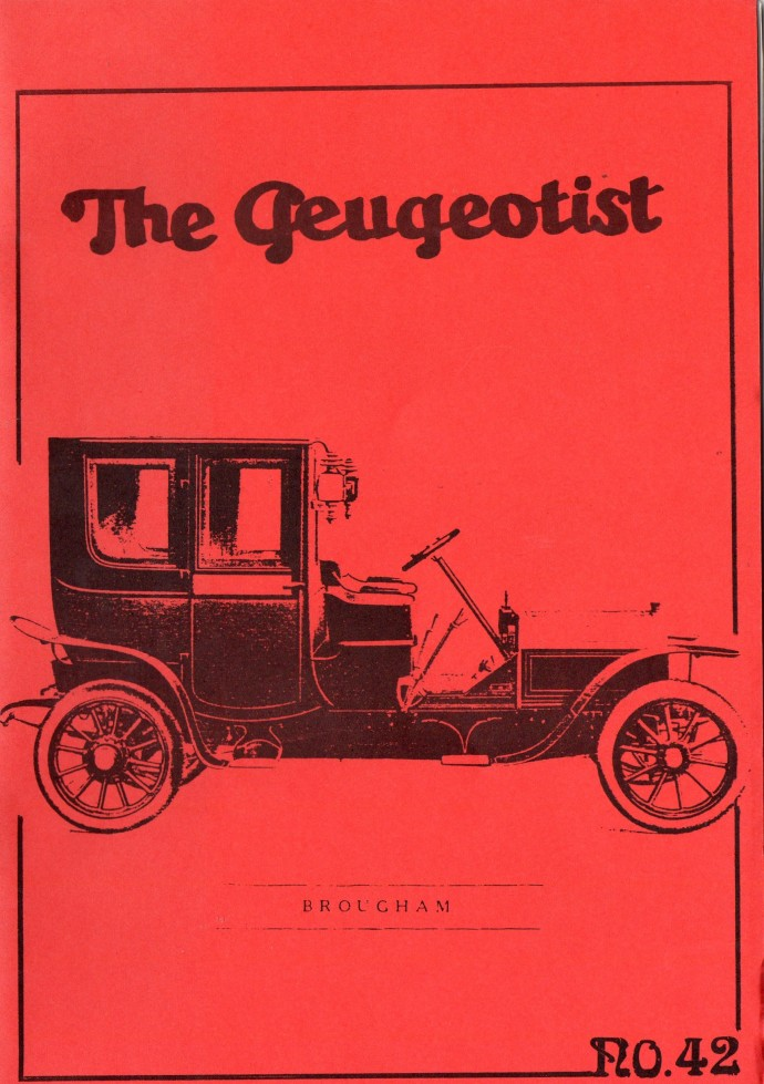 The Pugeotist issue 42 cover