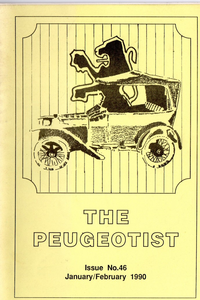 The Pugeotist issue 46 cover