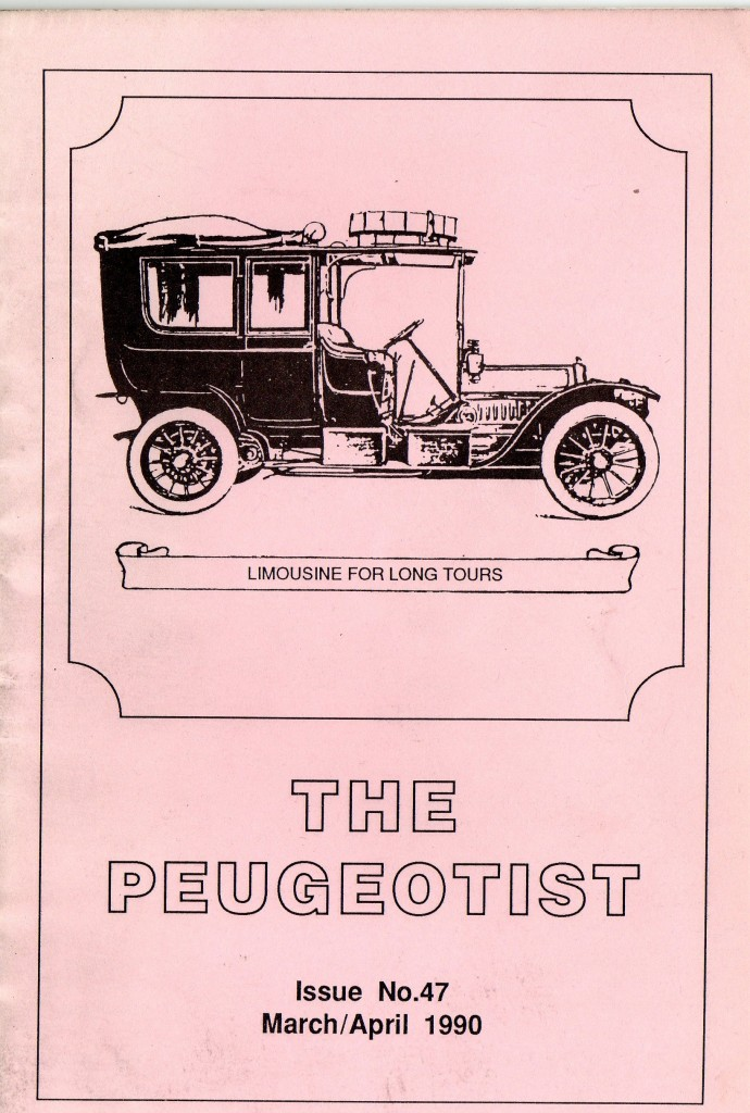 The Pugeotist issue 47 cover