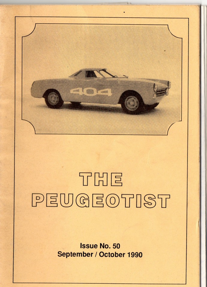The Pugeotist issue 50 cover