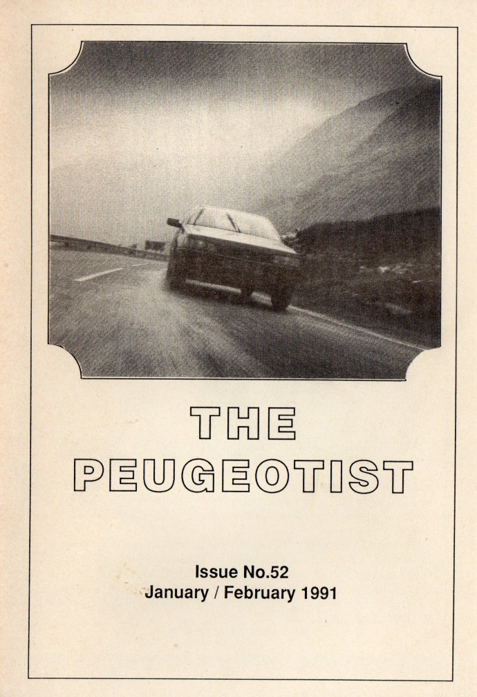 The Pugeotist issue 52 cover