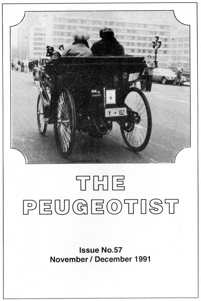 The Pugeotist issue 57 cover