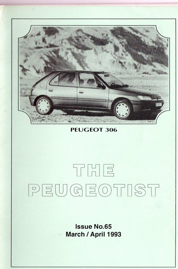 The Pugeotist issue 65 cover
