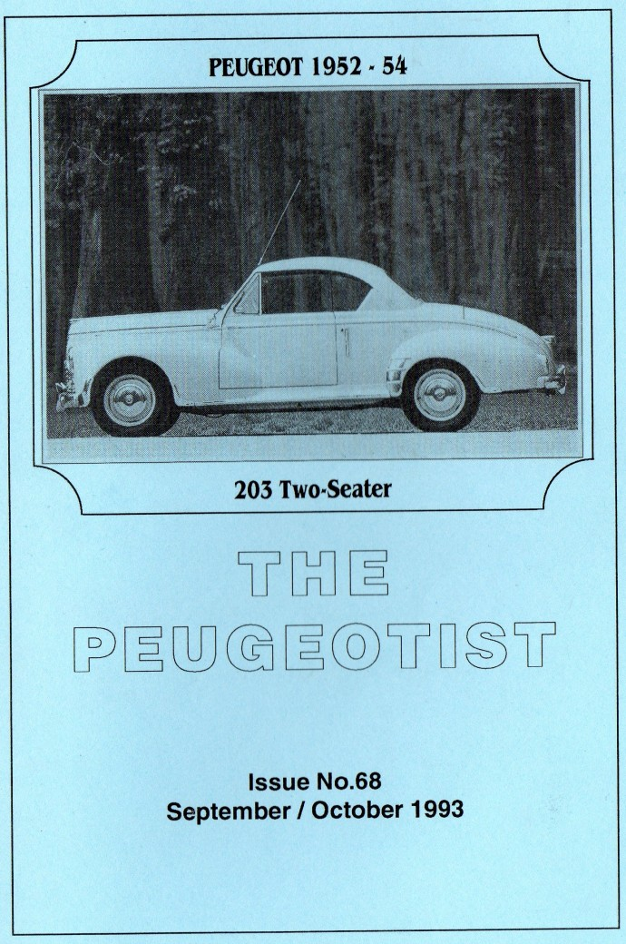 The Pugeotist issue 68 cover