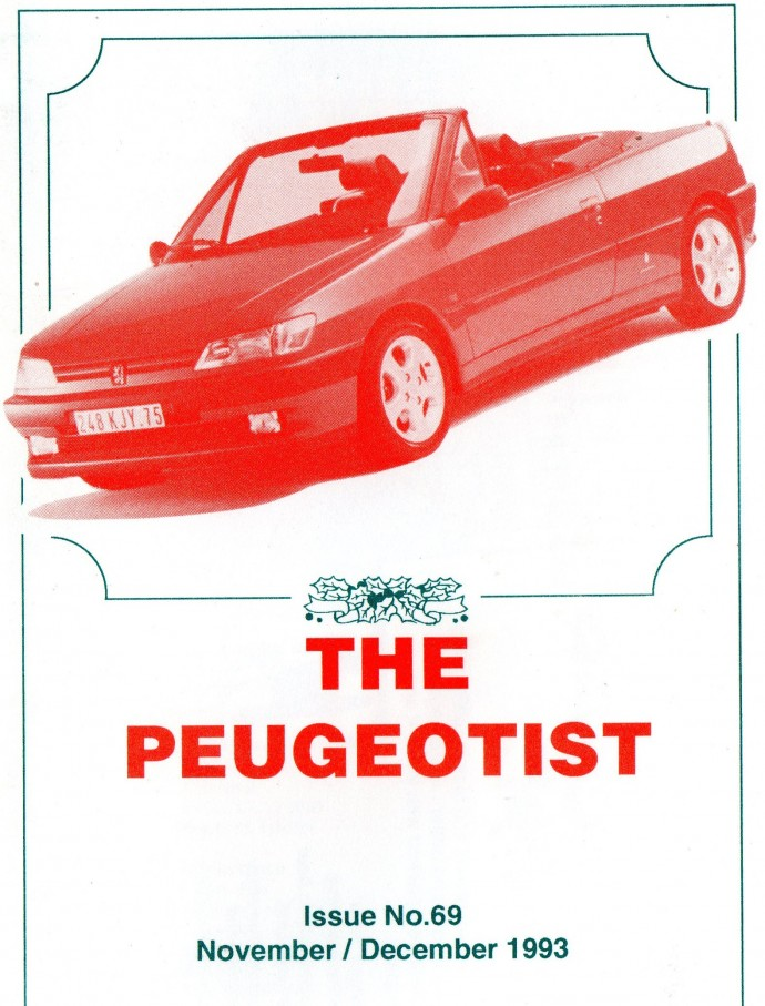The Pugeotist issue 69 cover