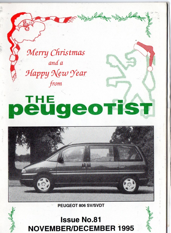 The Pugeotist issue 81 cover