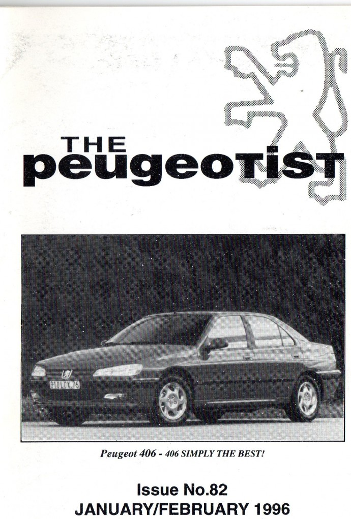 The Pugeotist issue 82 cover