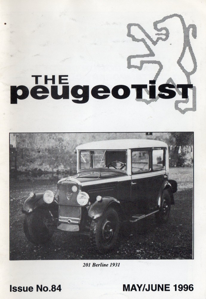 The Pugeotist issue 84 cover