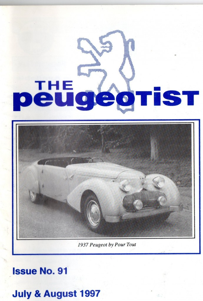 The Pugeotist issue 91 cover