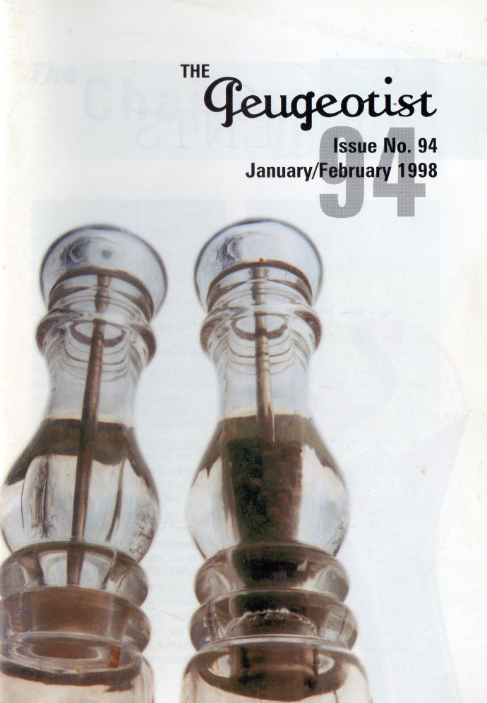The Pugeotist issue 94 cover