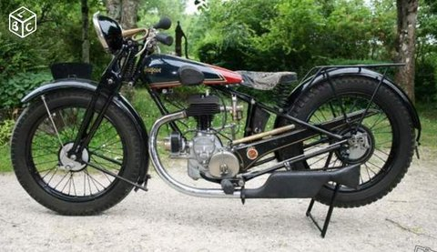 P110 Motorcycle 1929